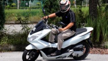 Honda PCX.