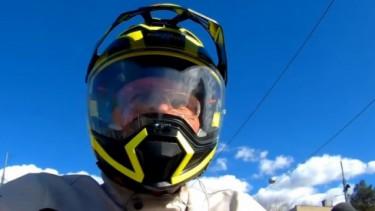 Helm anyar Nolan Supermoto N70-2 X