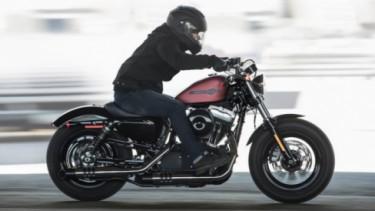 Harley Sportster.