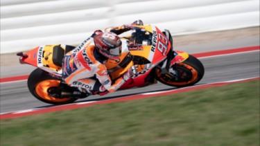 Marc Marquez di MotoGP Amerika