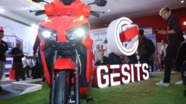 Motor listrik Gesits.