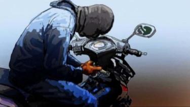 Ilustrasi pencurian motor.