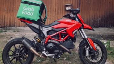 Ojek online pakai Ducati