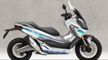 Rendering skutik adventure Honda, ADV 150.