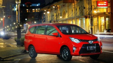 Test drive Toyota Calya di Bandung