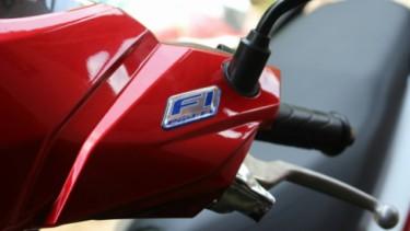 Ilustrasi motor Honda.