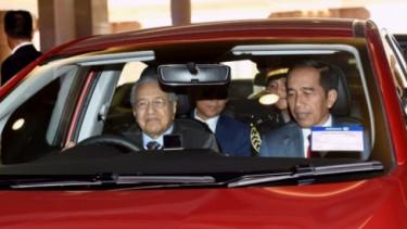 Presiden RI bersama Perdana Menteri Malaysia