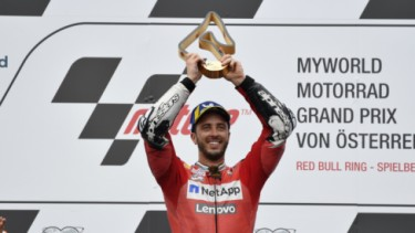 Andrea Dovizioso menjuarai MotoGP Austria