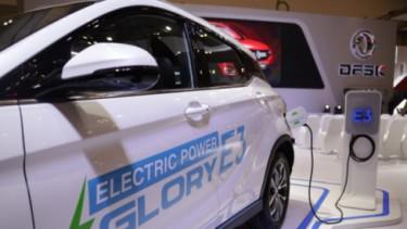 llustrasi mobil listrik, Glory E3