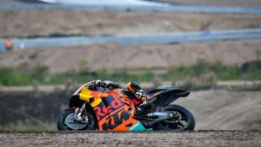 Tes MotoGP di Sirkuit KymiRing di Finlandia.