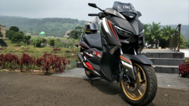 Modifikasi Yamaha XMax
