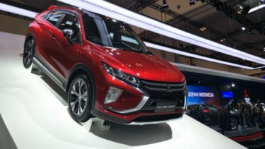 Mitsubishi Eclipse Cross di GIIAS 2019