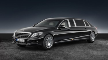 Mercedes-Benz S600 Pullman Maybach Guard