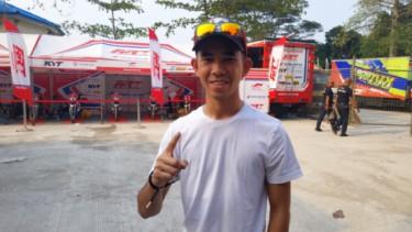 Pembalap Moto3 asal Indonesia, Gerry Salim