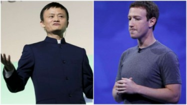 Jack Ma dan Mark Zuckerberg