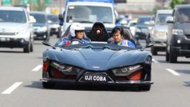 Mobil listrik Lowo Ireng garapan ITS.
