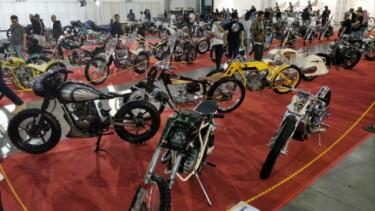 Motor Custom di Kustomfest 2019