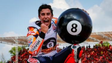 Marc Marquez raih gelar juara dunia ke-8