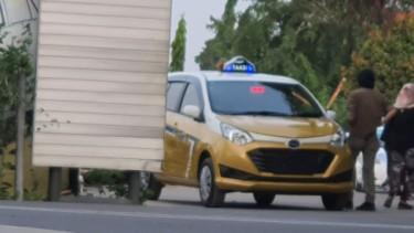 Daihatsu Sigra jadi taksi