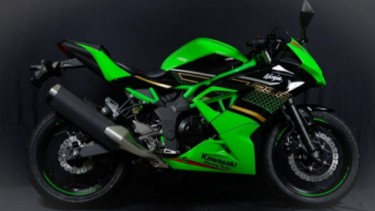 Kawasaki Ninja 250 SL edisi terbaru.