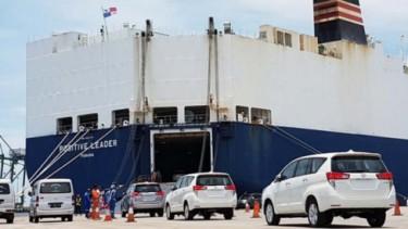 Ekspor mobil Toyota buatan Indonesia
