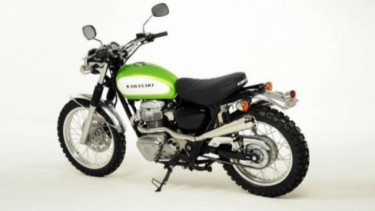 Motor Kawasaki.