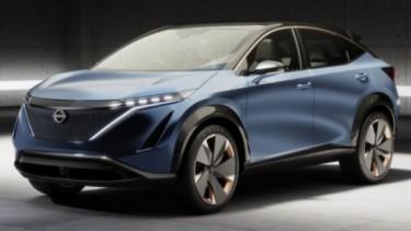 Nissan Ariya concept.