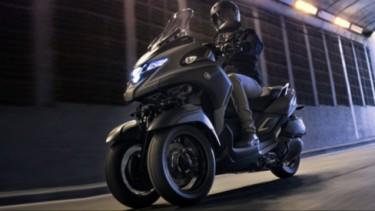Yamaha New Tricity 300.