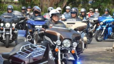 Komunitas Harley-Davison Anak Elang