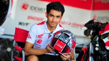 Pembalap Moto2 asal Indonesia, Andi Gilang
