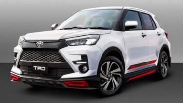 Akserosi TRD Untuk Toyota Raize