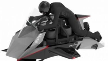 Jetpack Speeder, motor terbang.