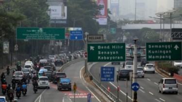 Jalan raya di Jakarta