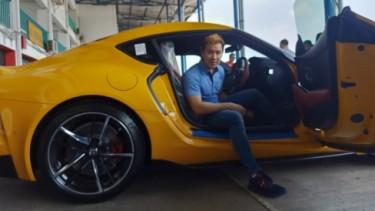 Marcus Gideon pembeli pertama Toyota Supra GR