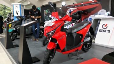 Gesits di IIMS Motobike Expo 2019