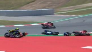 Pembalap MotoGP Terjatuh