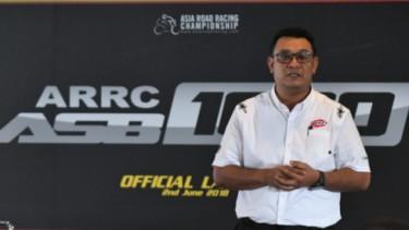 Ron Hogg TWMR Bos Penyelenggara Balap Asia