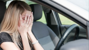 Ilustrasi Takut Saat Ingin Menyetir Mobil