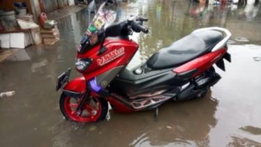 NMAX Eks Banjir