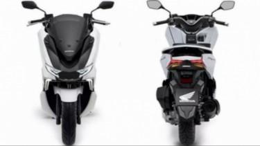 Honda PCX rendering.