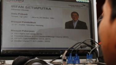 Dirut Garuda Indonesia, Irfan Setiaputra