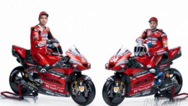 Ducati MotoGP perkenalkan livery baru dari motor andalannya.