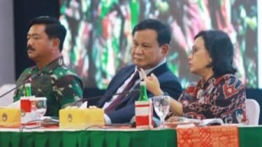 Sri Mulyani dan Prabowo Subianto