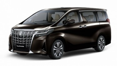 Eksterior New Toyota Alphard 2020