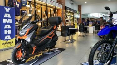 Yamaha Mekar Motor di Cibinong