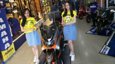 Yamaha NMAX modifikasi diler