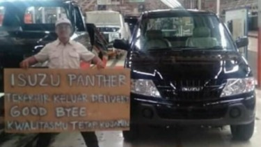 Isuzu Panther Stop Produksi