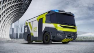 Mobil pemadam kebakaran tenaga listrik