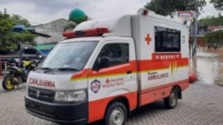 Suzuki Carry pikap disulap jadi ambulance