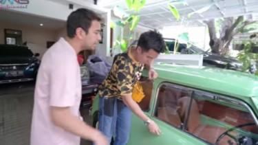 Baim Wong rela menebus Morris Mini Raffi Ahmad seharga Rp1 miliar
